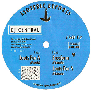 "DJ Central ‎– ESO EP 12"" - Vinylhouse"