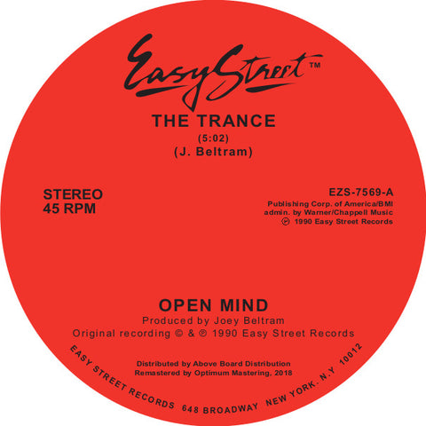 Open Mind ‎– The Trance 12""
