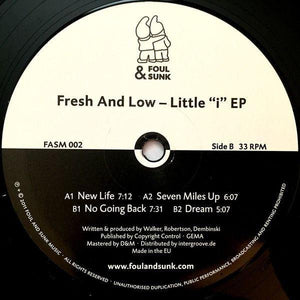 Fresh And Low ‎– Little I EP - Vinylhouse
