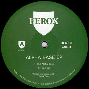 Derek Carr ‎– Alpha Base EP - Vinylhouse