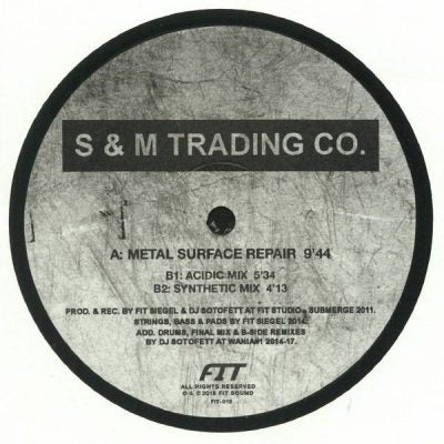 "S & M Trading Co. - Metal Surface Repair 12"" - Vinylhouse"