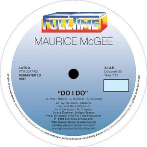 "Maurice McGee ‎– Do I Do 12"" - Vinylhouse"