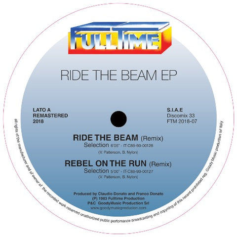 Selection ‎– Ride The Beam EP