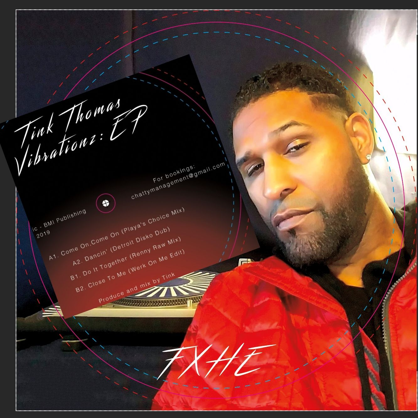 Tink Thomas - Vibrationz EP