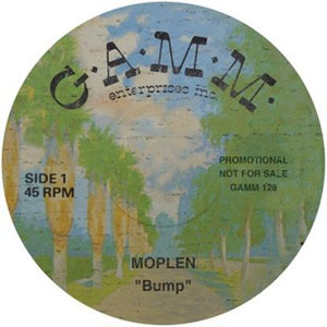 Moplen ‎– Bump / Know 12""