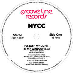 NYCC - I'll Keep My Light In My Window / Express Yourself 12""