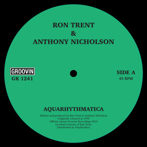Ron Trent, Anthony Nicholson ‎– Aquarythmatica / City Beat 12""