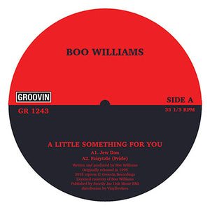 "Boo Williams ‎– A Little Something For You 12"" - Vinylhouse"