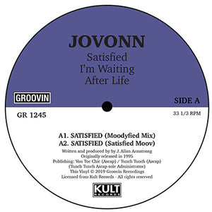 Jovonn - Satisfied / I'm Waiting / Afterlife