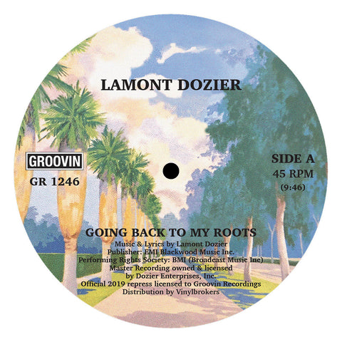 Lamont Dozier - Going Back To My Roots 12""