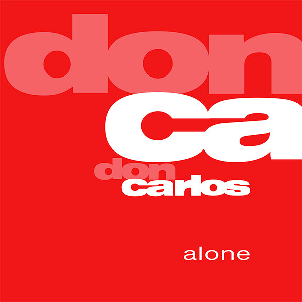 "Don Carlos ‎– Alone 12"" - Vinylhouse"