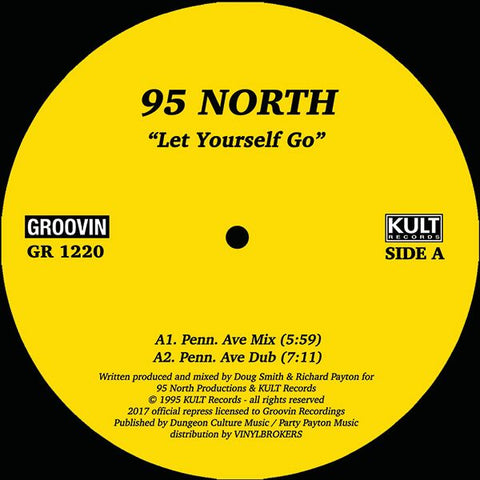 "95 North - Let Yourself Go 12"" - Vinylhouse"
