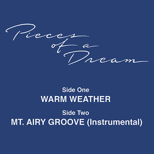 Pieces Of A Dream ‎– Warm Weather 12""