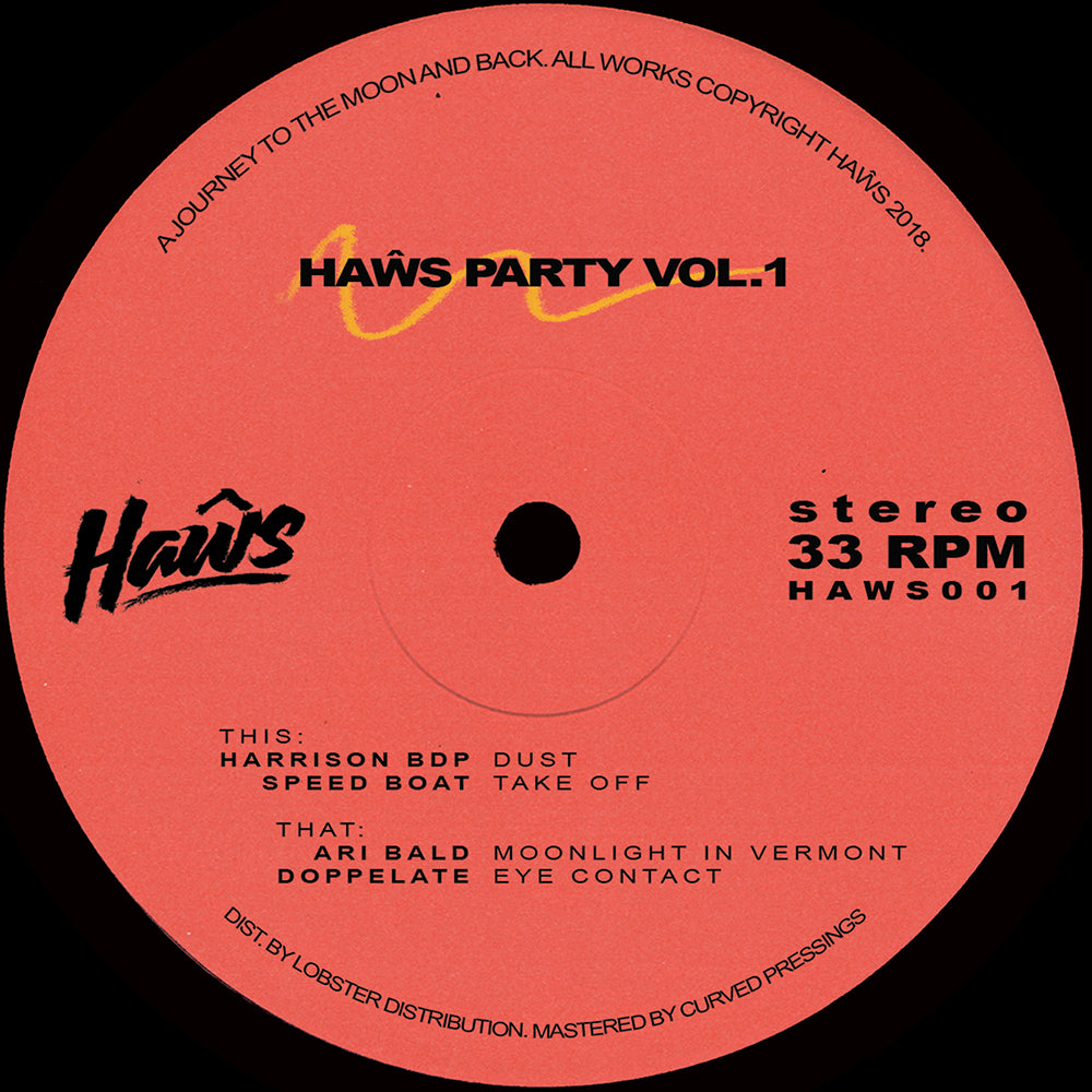 Various ‎– Haŵs Party Vol.1 12""