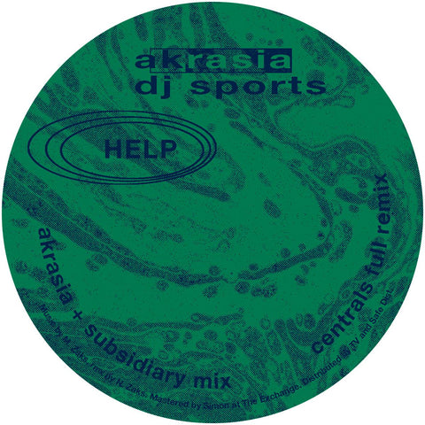 "DJ Sports - Akrasia 12"" - Vinylhouse"