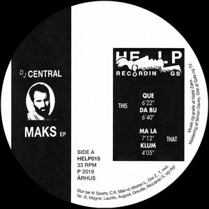 Central - Maks EP - Vinylhouse