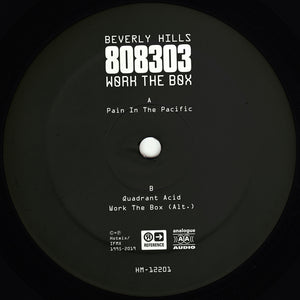 "Beverly Hills 808303 ‎– Work The Box 12"" - Vinylhouse"