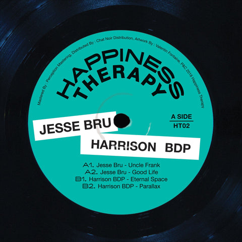 Jesse Bru, Harrison BDP ‎– Happiness Therapy Split Vol.2 12""