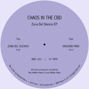 Chaos In The CBD ‎– Zona Del Silencio EP - Vinylhouse