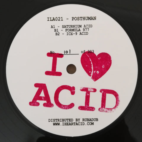 Posthuman ‎– I Love Acid 021 12""
