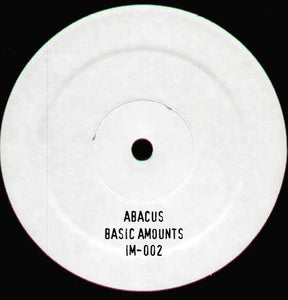 "Abacus ‎– Basic Amounts 12"" - Vinylhouse"