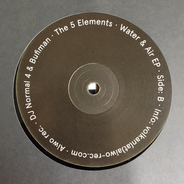 "DJ Normal 4 & Bufiman - The 5 Elements pt. 1 12"" - Vinylhouse"