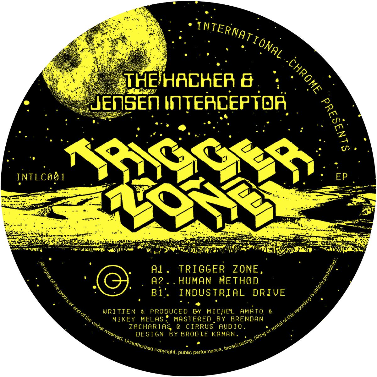 The Hacker & Jensen Interceptor - Trigger Zone EP