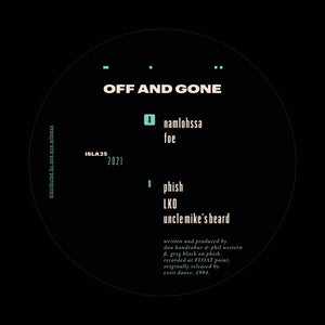 Off And Gone ‎– Off And Gone 12""