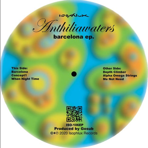 Anthiliawaters ‎– Barcelona EP