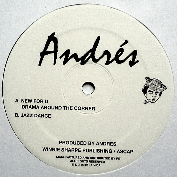 "Andres - New For U 12"" - Vinylhouse"