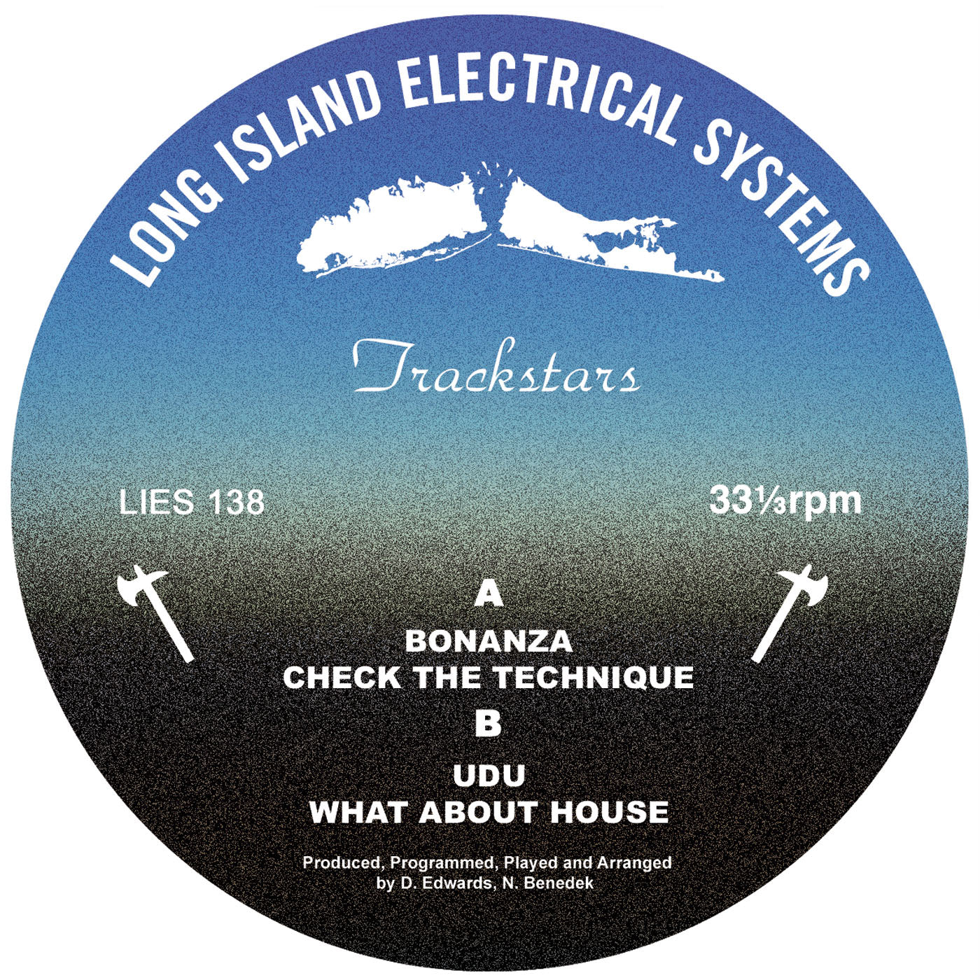 Trackstars (Delroy Edwards & Benedek) - Untitled 12""
