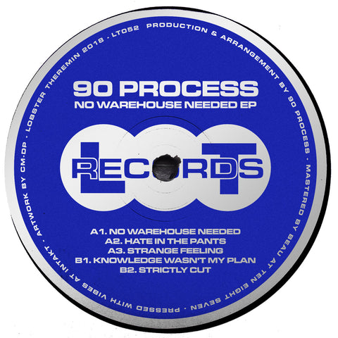 90 Process ‎– No Warehouse Needed EP - Vinylhouse