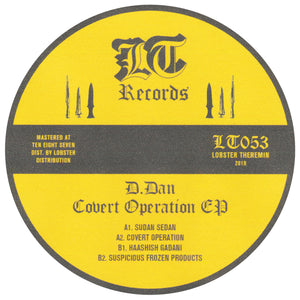 D.Dan ‎– Covert Operation EP - Vinylhouse