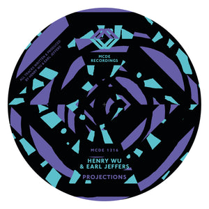 "Henry Wu & Earl Jeffers - Projections EP 12"" - Vinylhouse"