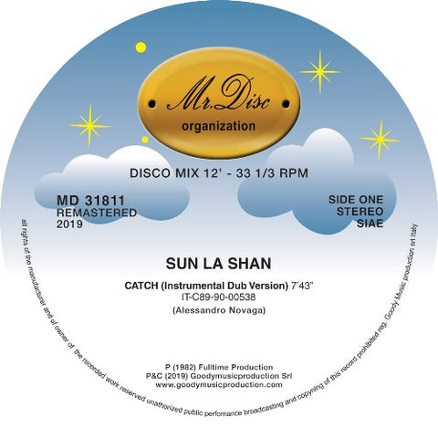 Sun La Shan ‎– Catch 12""