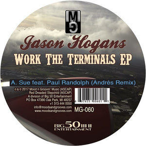 Jason Hogans ‎– Work The Terminals EP - Vinylhouse