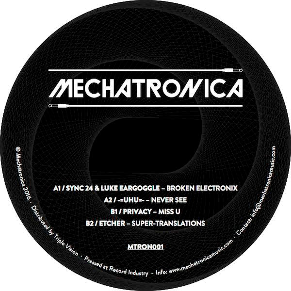 "Various ‎– Mechatronica 1 12"" - Vinylhouse"