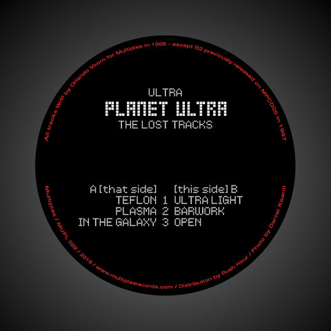 Ultra ‎– Planet Ultra - The Lost Tracks 12""
