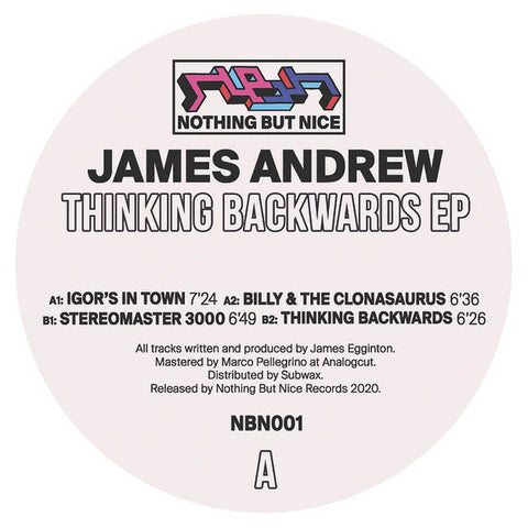 James Andrew ‎– Thinking Backwards EP