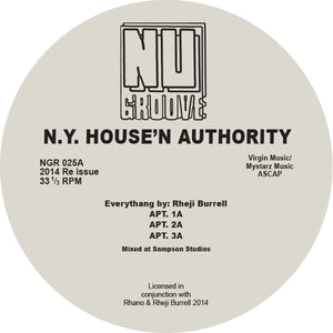 "N.Y. House'n Authority ‎– APT. 12"" - Vinylhouse"