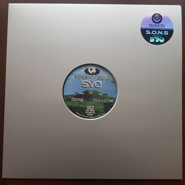 S.O.N.S presents SYO - Tears / D.U.N.E 12""