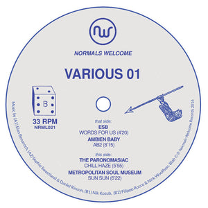 "V/A– Various 01 12"" - Vinylhouse"