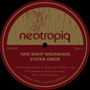 Two Right Wrongans ‎– System Error 12""