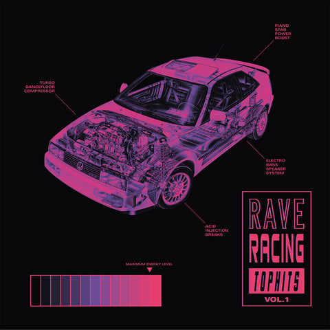 OIWA - Rave Racing Top Hits Vol.1 12""