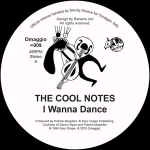 The Cool Notes - I Wanna Dance 12""