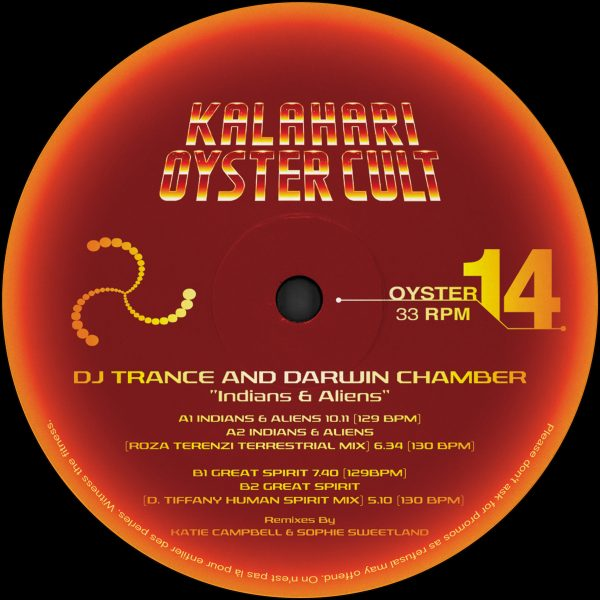 "DJ Trance & Darwin Chamber ‎– Indians And Aliens 12"" - Vinylhouse"