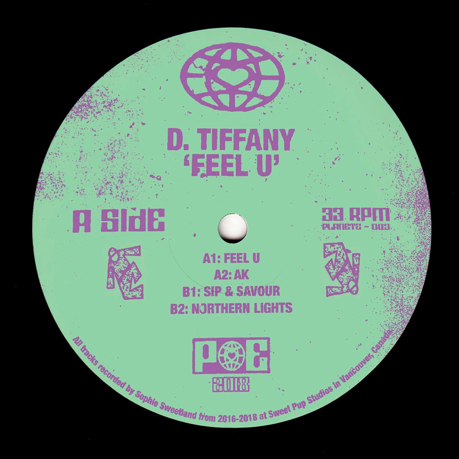 "D. Tiffany ‎– Feel U 12"" - Vinylhouse"