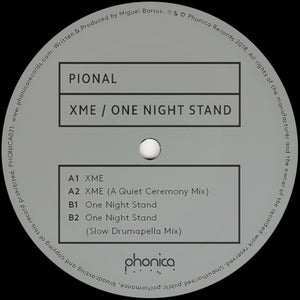 Pional - XME / One Night Stand 12""