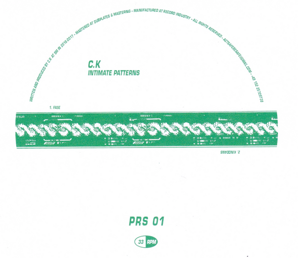 "C.K ‎– Intimate Patterns 12"" - Vinylhouse"