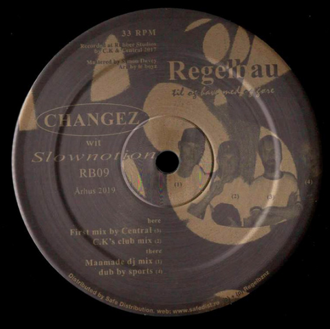 "Changez ‎– Slownotion 12"" - Vinylhouse"
